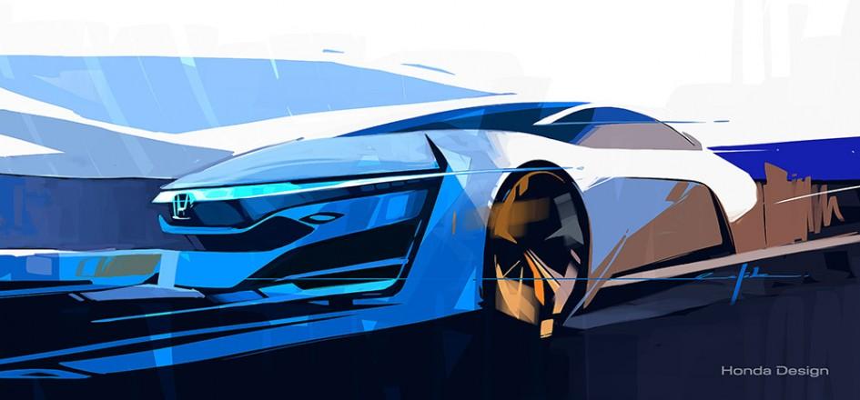 Dessin Concept FCEV - Honda