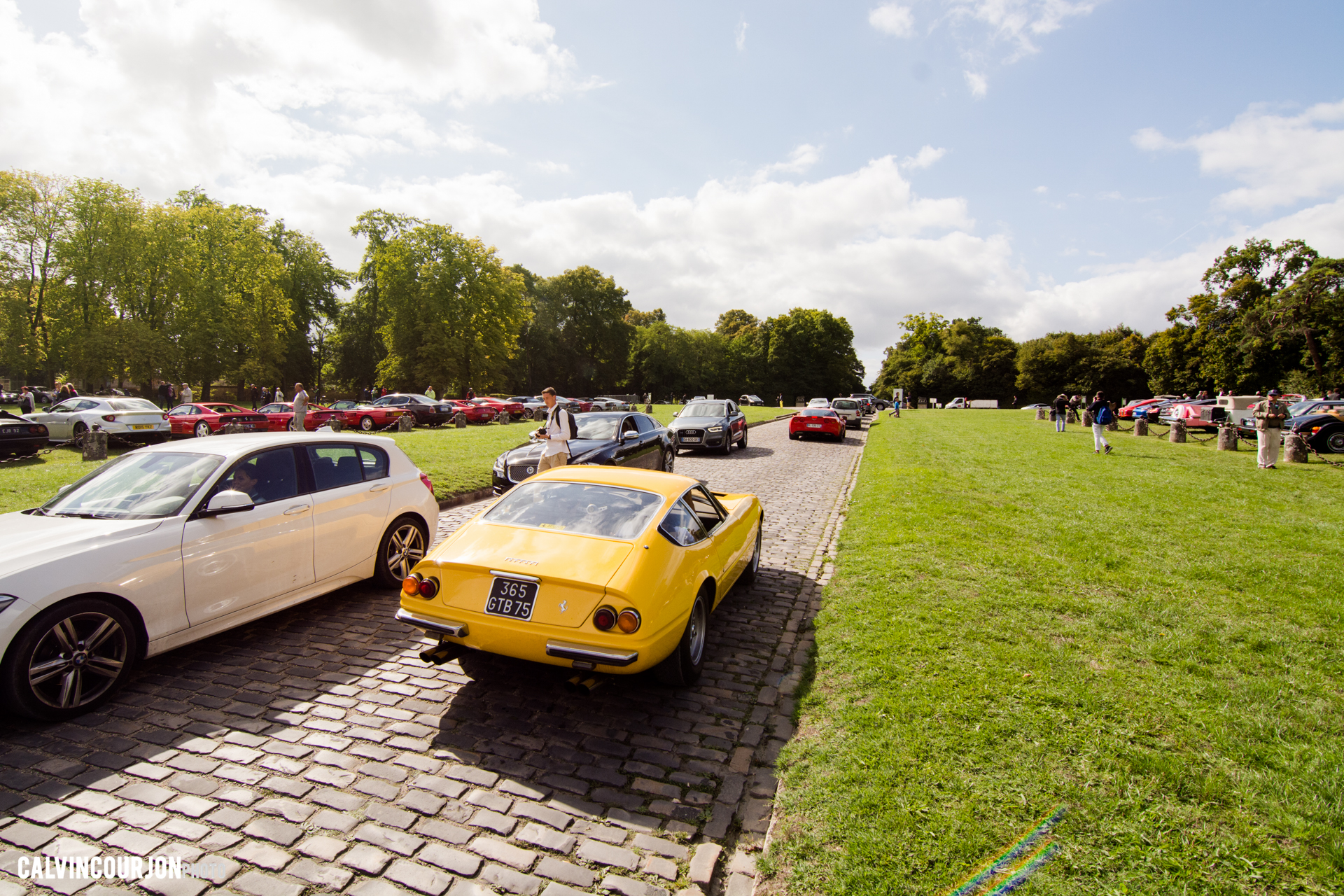 chemin parking - Chantilly 2015 – photo Calvin Courjon