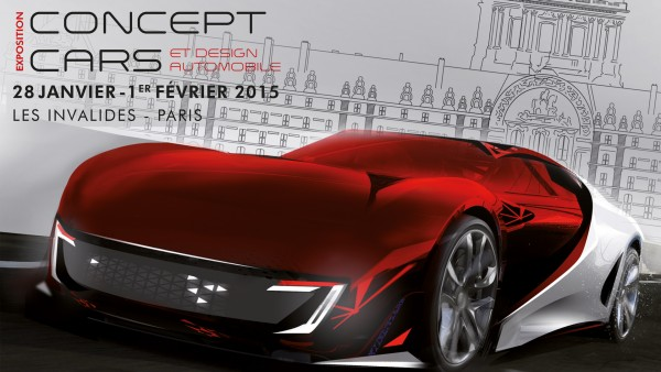 Festival automobile international 2015 - Expo Concept Cars