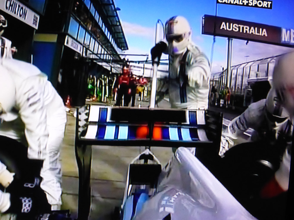 Pit Stop - Williams - F1 OnBoard
