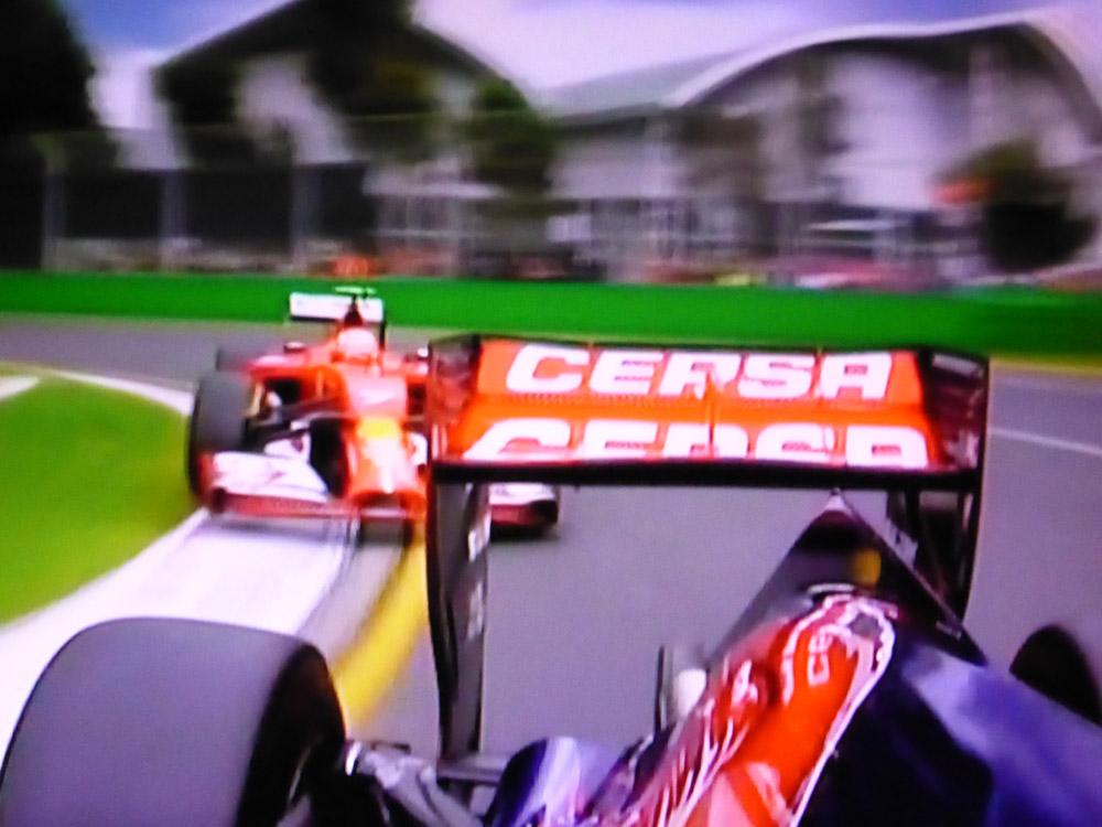 Ferrari vs Toro Rosso - F1 OnBoard