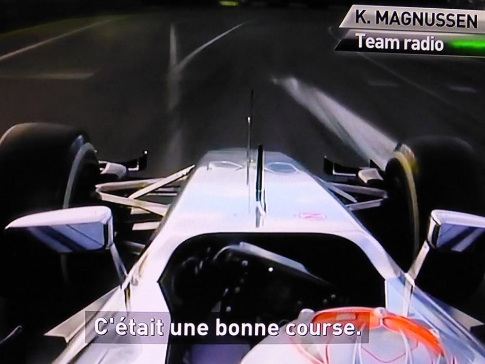 Magnussen Team Radio McLaren - Onboard F1