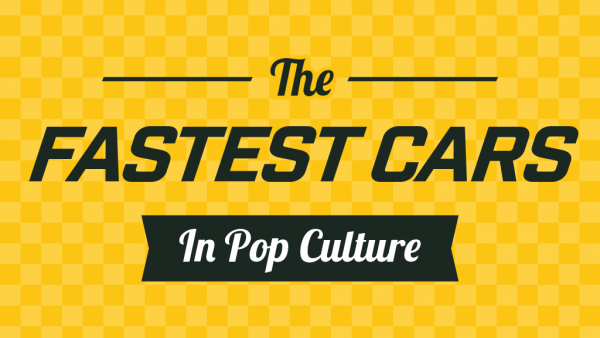 Fastest Cars in Pop Culture - cover