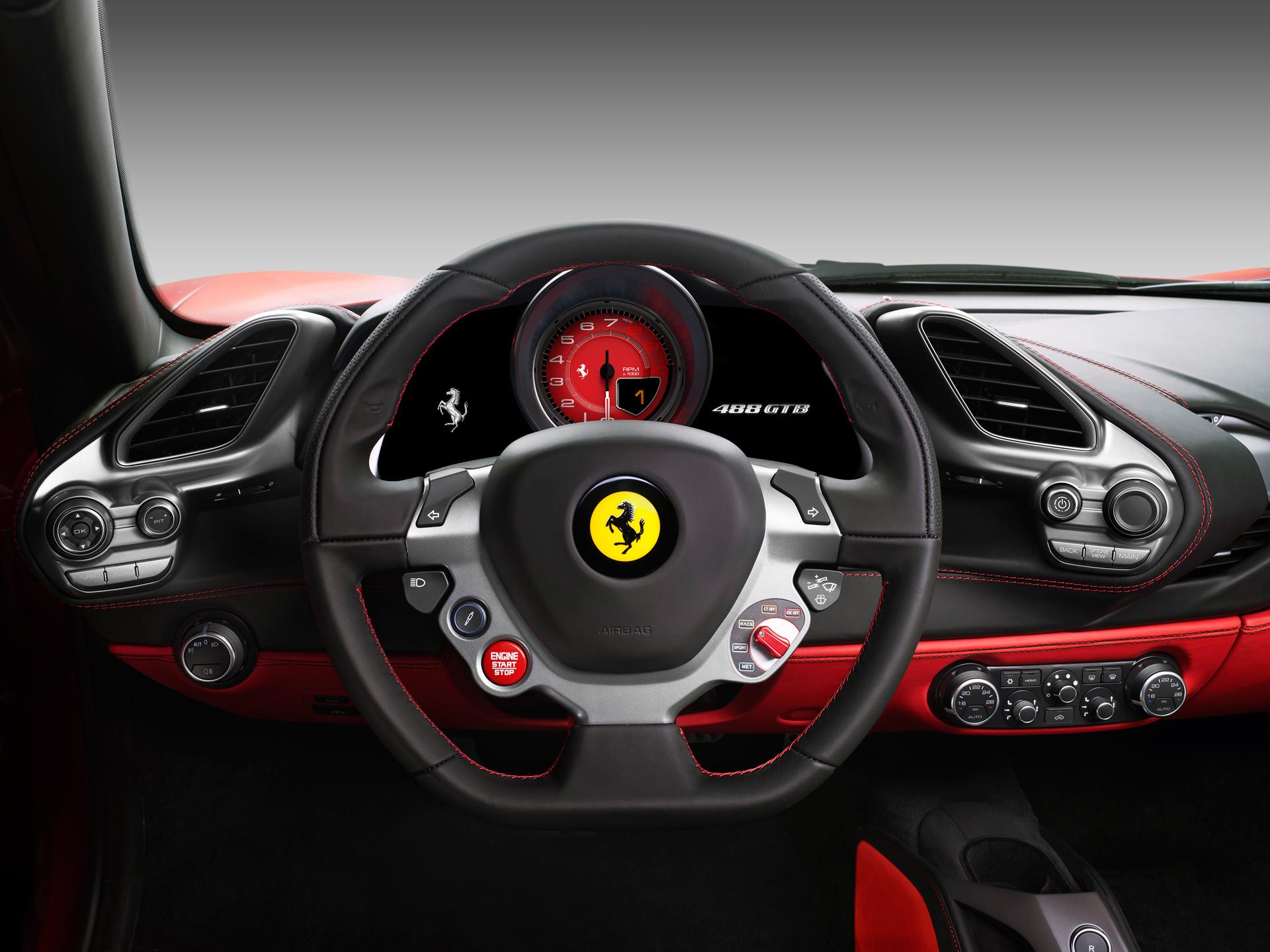 Ferrari 488 GTB- volant