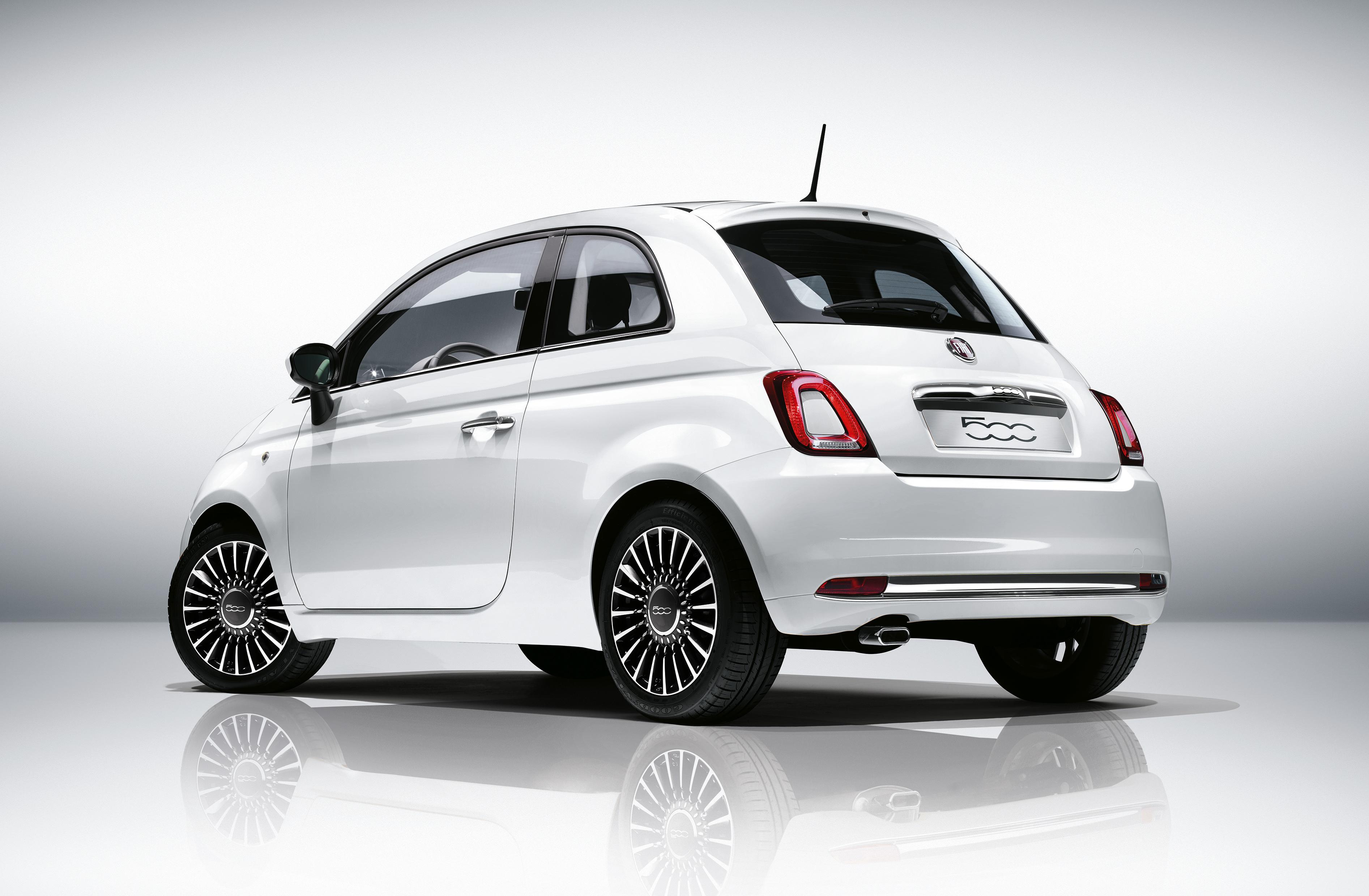 Fiat 500 - Nuova 500 - 2016 - profil arrière / rear side-face