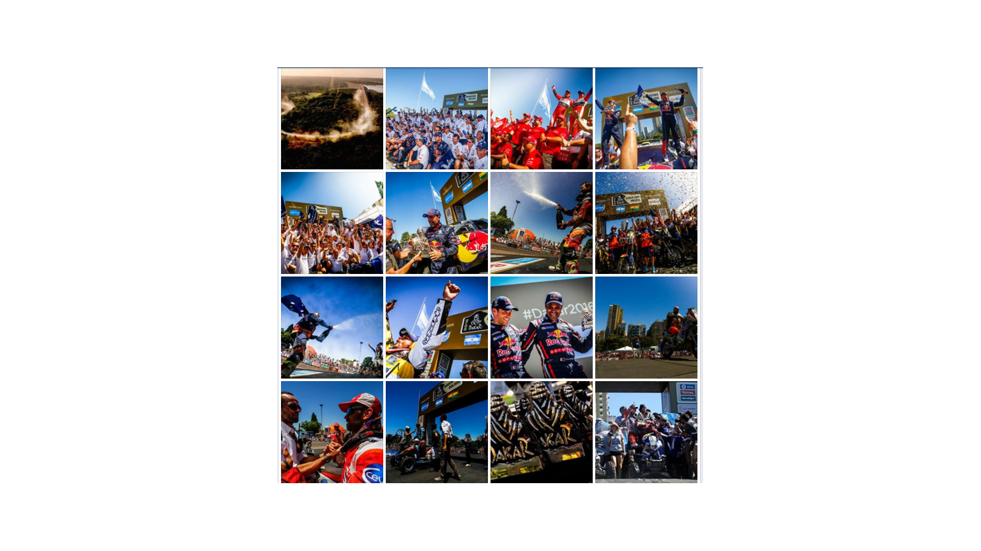 finish - Dakar 2016 - photos