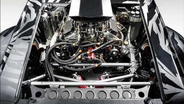 1965 Ford Mustang Hoonicorn RTR - 2015 - moteur / engine - Ford V8