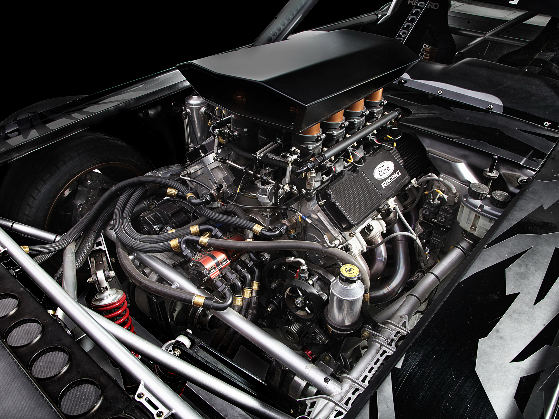 1965 Ford Mustang Hoonicorn RTR - 2015 - moteur / engine