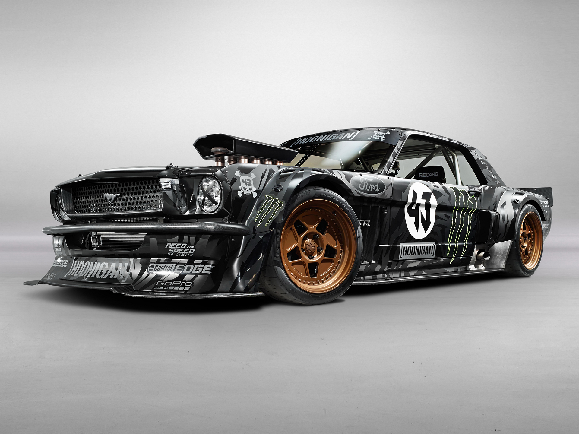 1965 Ford Mustang Hoonicorn RTR - 2015 - profil avant / front side-face