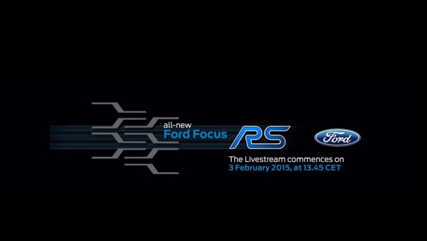Teaser 2015: All-New Ford Focus RS