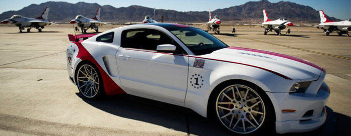 Mustang GT édition US Air Force Thunderbirds