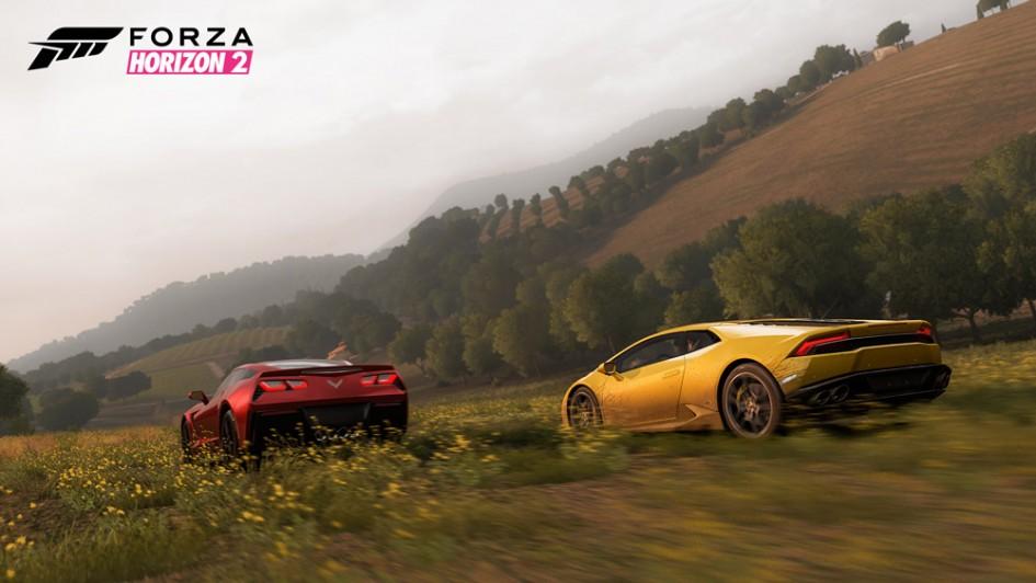 Huracan vs Corvette - Forza Hozizon 2