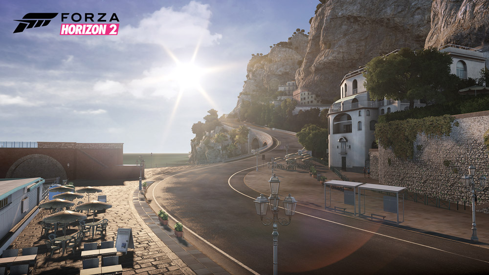 Paysage Sud de la France - Forza Hozizon 2