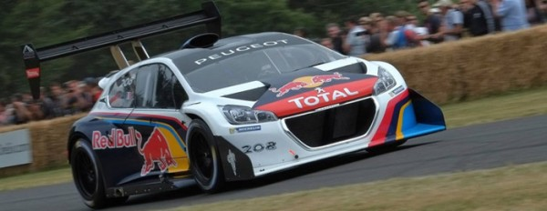 Sebastien Loeb - Peugeot T16 - Goodwood 2014