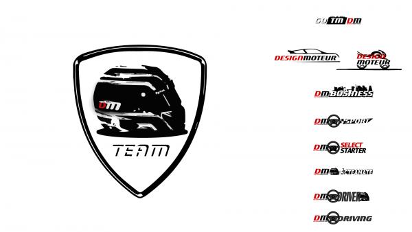 artwork Go Tm DM - logotype DESIGNMOTEUR Team network