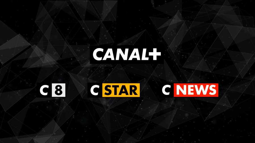 Groupe Canal+ logotypes 2016 - CANAL8 - CANALSTAR - CANALNEWS