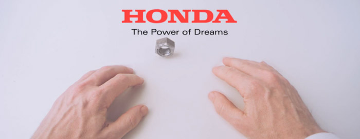 Hands Honda The Power of Dreams