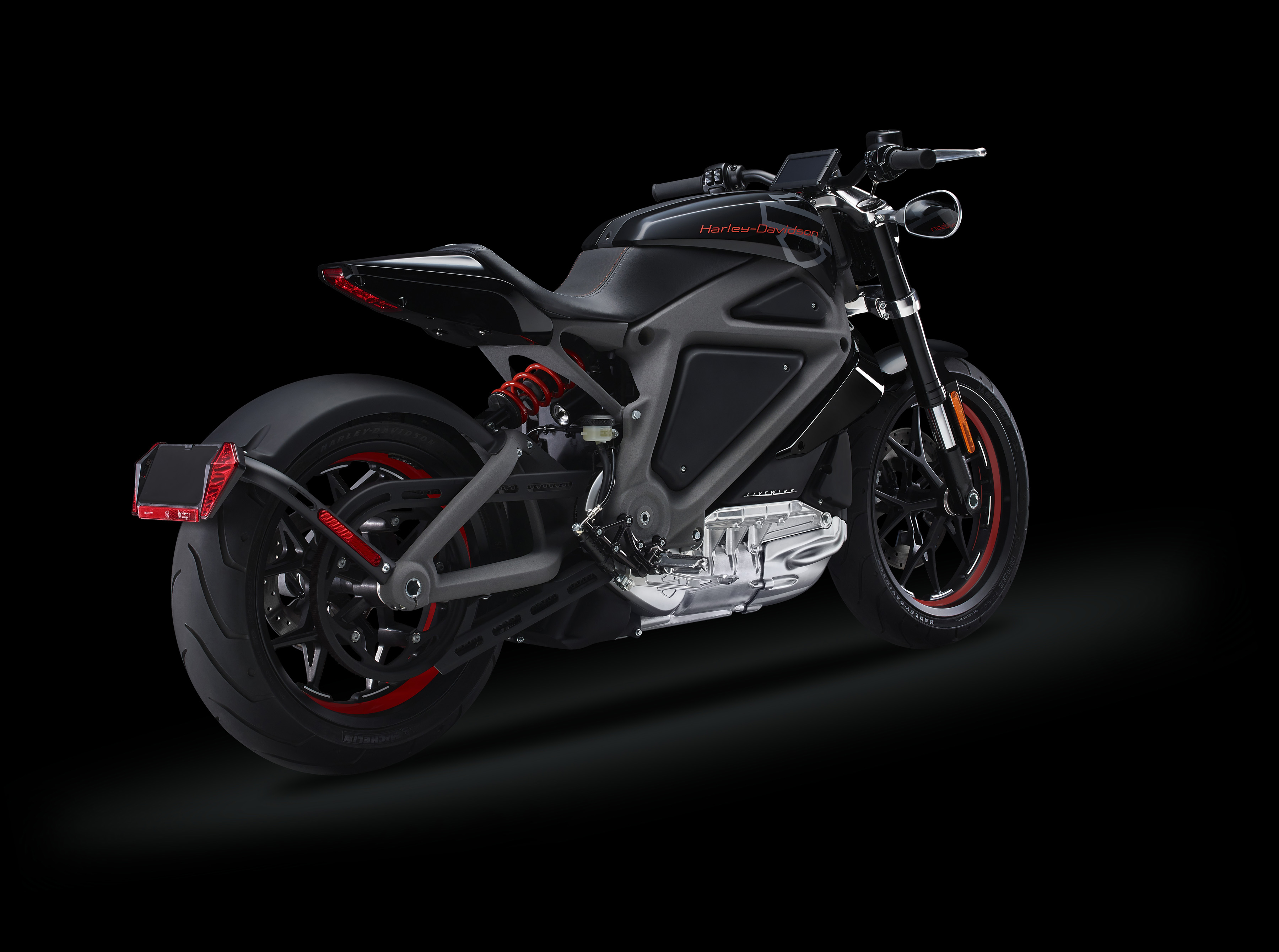 Harley-Davidson LiveWire - profil arrière