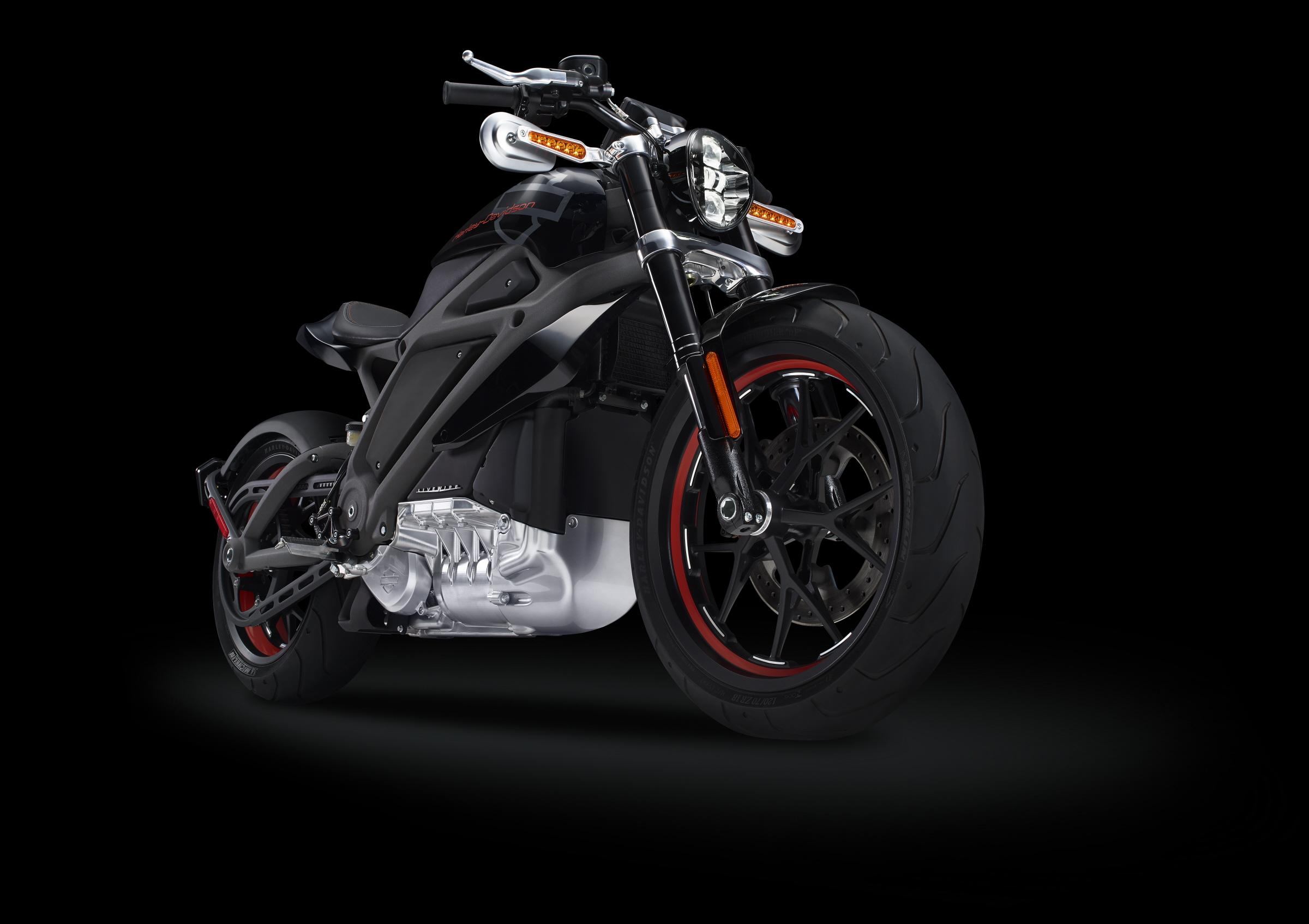 Harley-Davidson LiveWire - profil avant