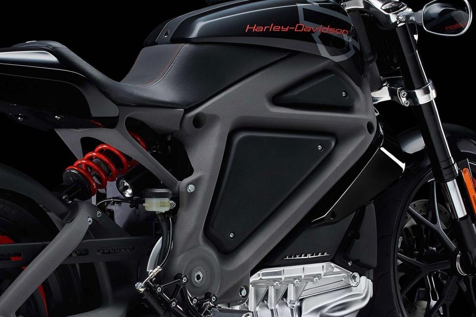 Harley-Davidson LiveWire - moteur