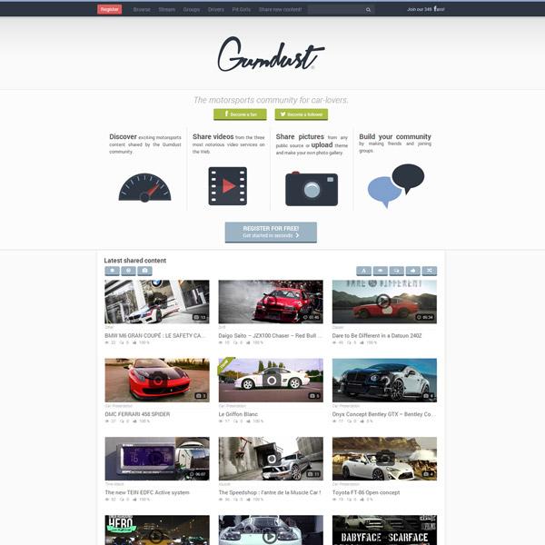Homepage Gumdust