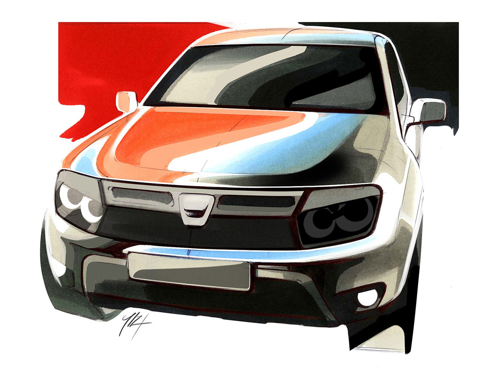 Illustration - Dacia Duster