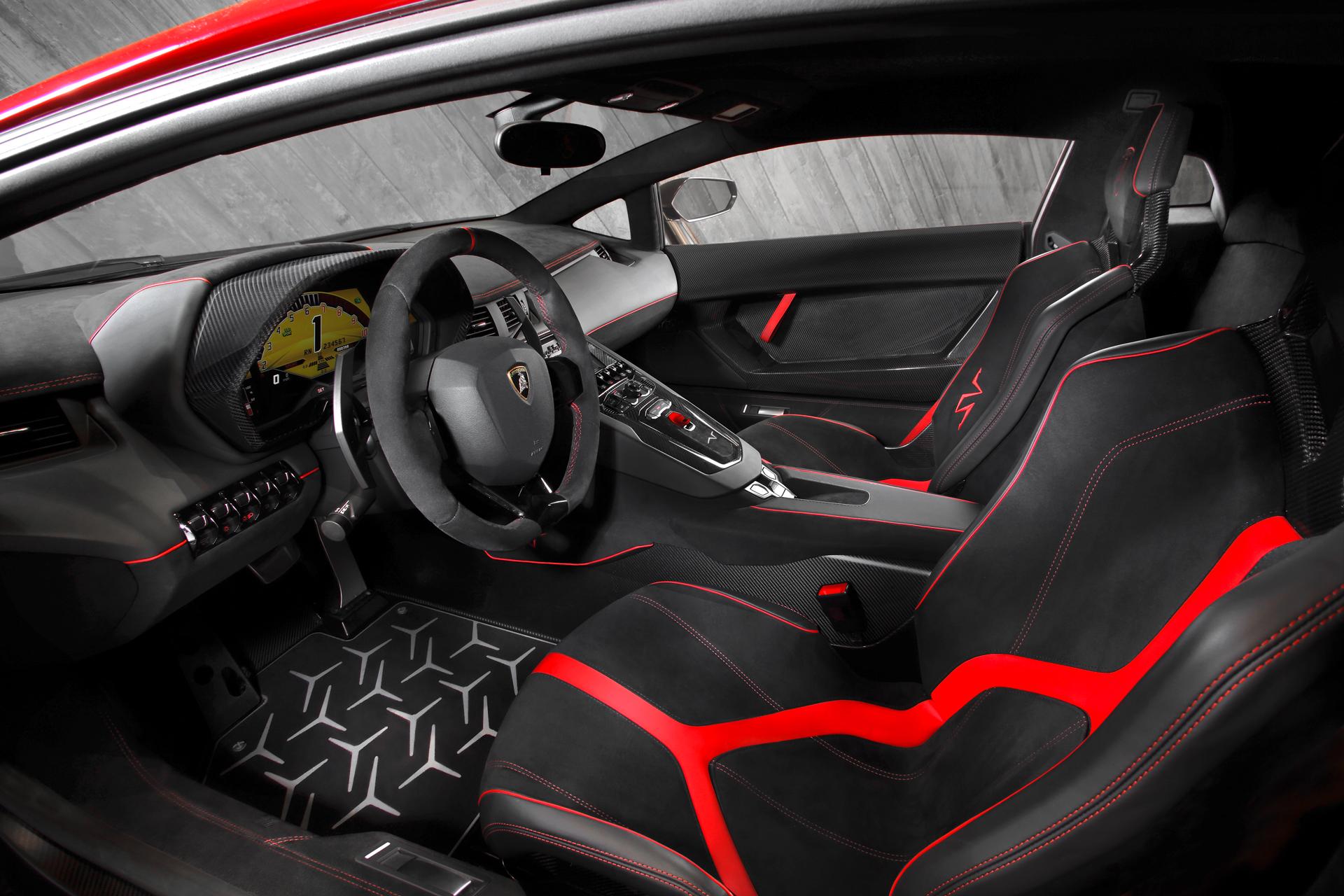Lamborghini LP750-4 Superveloce - intérieur