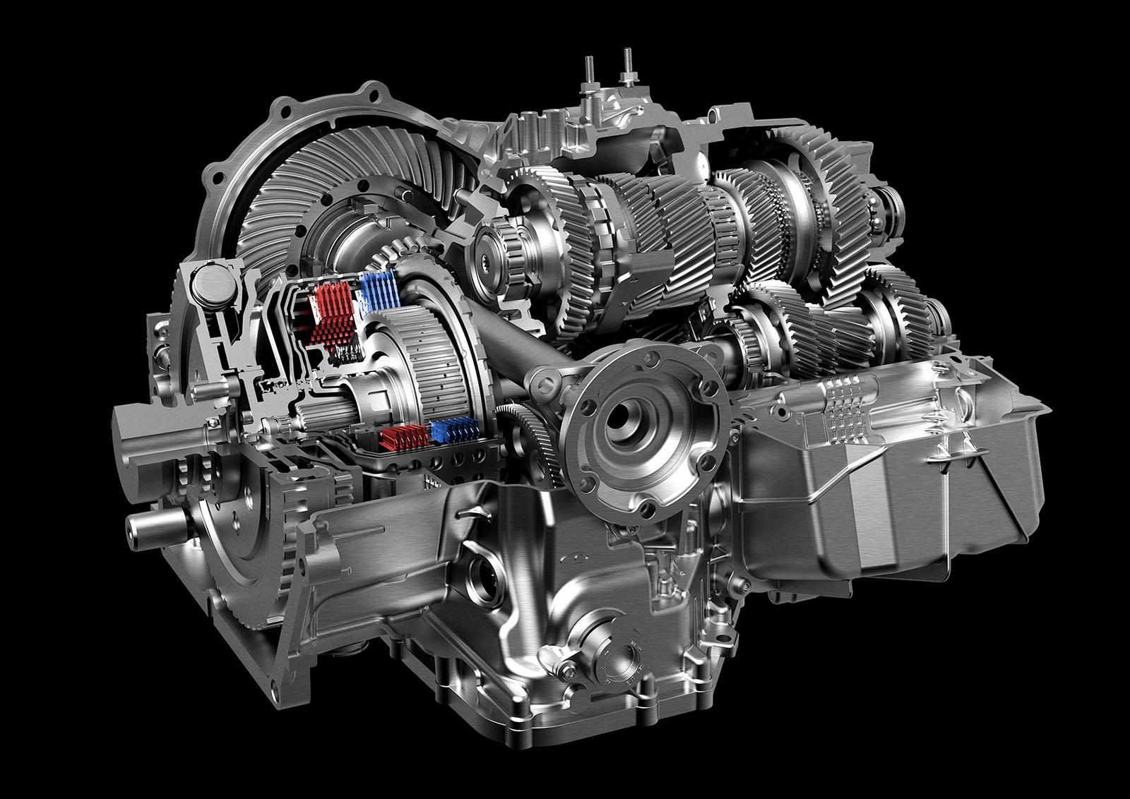 Lamborghini Huracán - Lamborghini Doppia Frizione (gearbox)