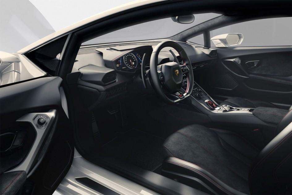 Intérieur Huracán LP 610-4 - Lamborghini