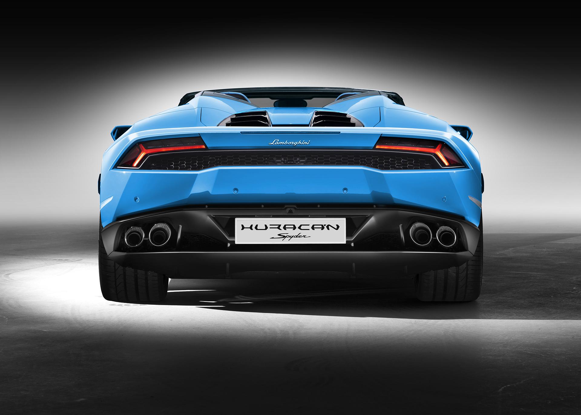 Lamborghini Huracán LP 610-4 Spyder - arrière / rear