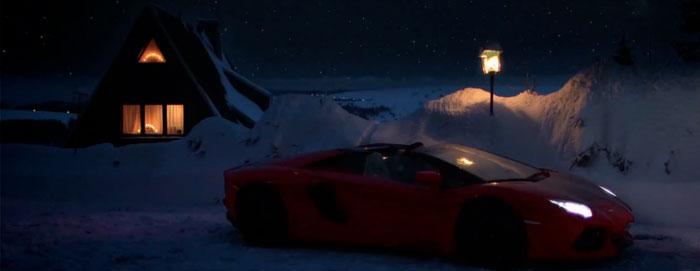 Lamborghini 700 Aventador Noël