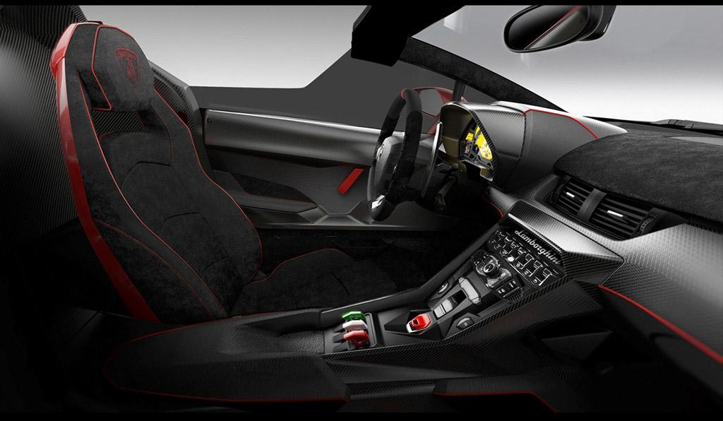 Lamborghini Veneno Roadster Intérieur