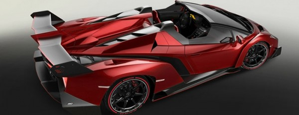 Lamborghini Veneno Roadster Rosso