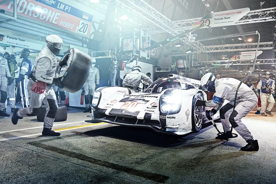 Le Mans - Michelin - Racers - Pit-stop