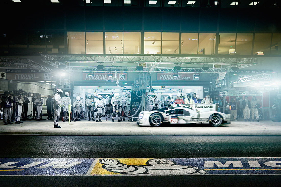 Le Mans - Michelin - Racers - Team