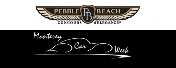 Logo Pebble Beach Concours d'Elegance – Logo Monterey Car Week