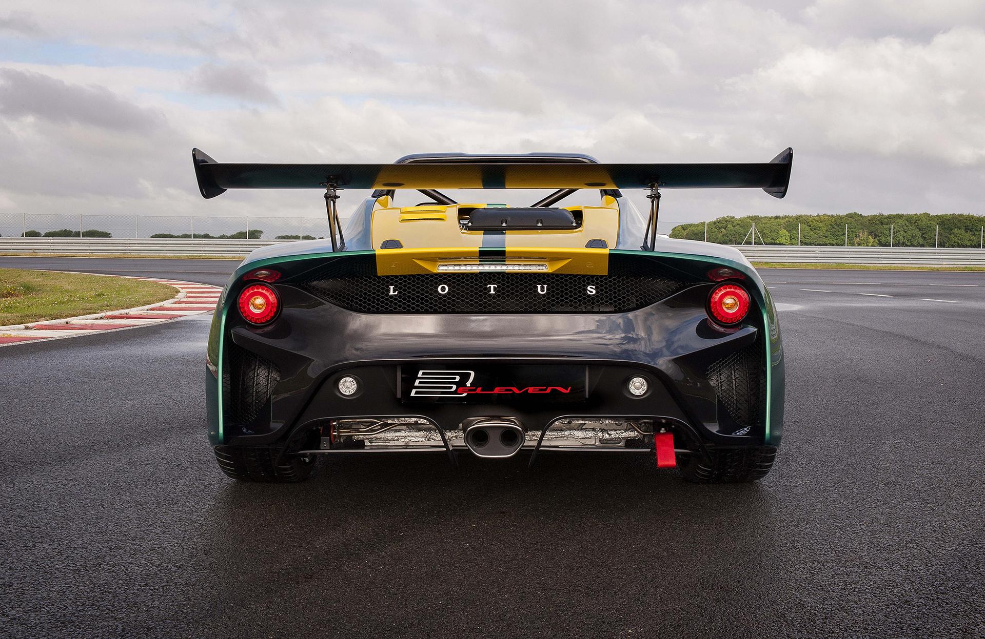 Lotus Cars 3-Eleven - arrière / rear