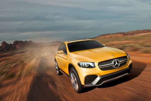 Mercedes-Benz Concept GLC Coupe - cover