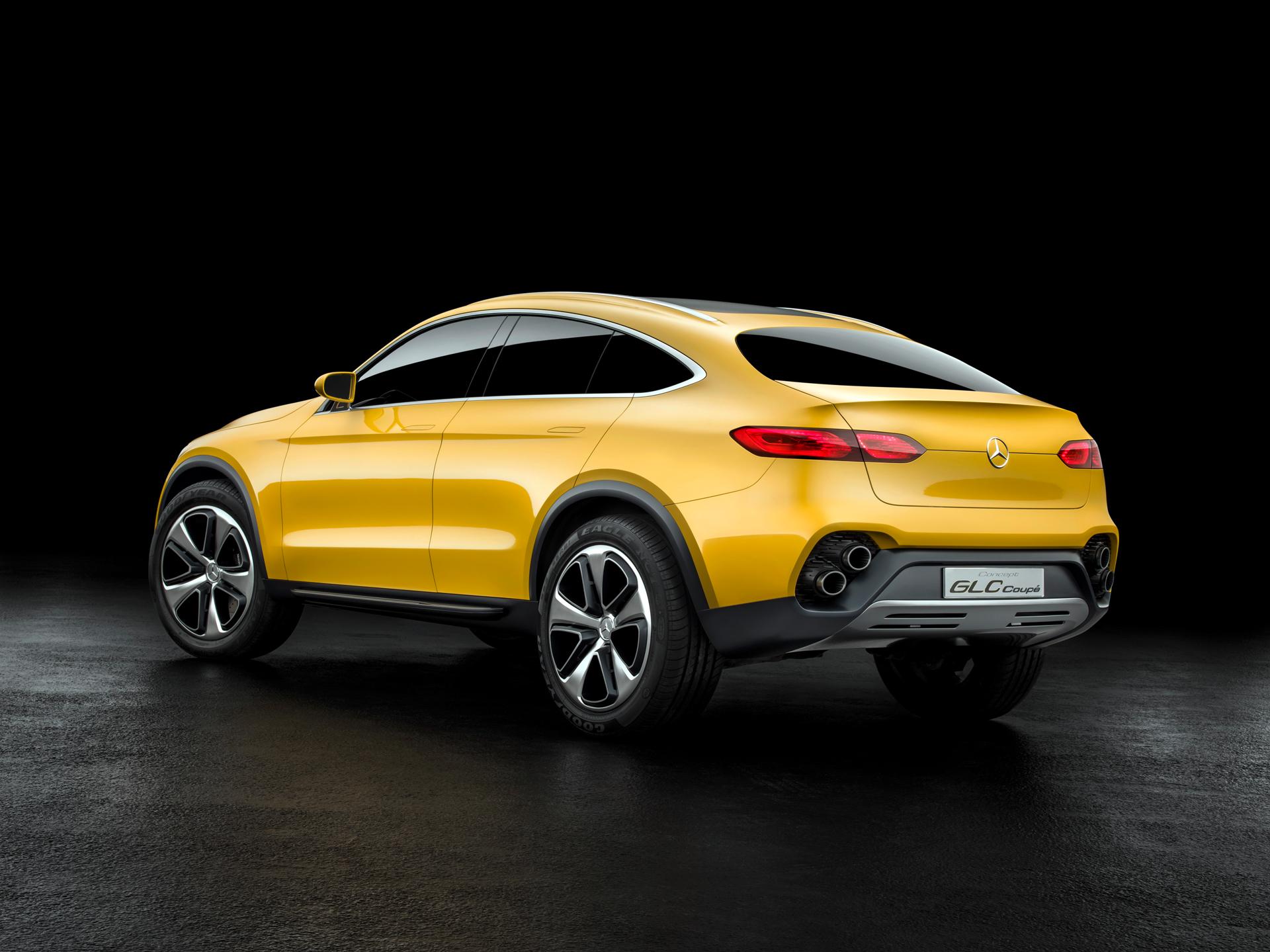 Mercedes-Benz Concept GLC Coupe - arrière / rear