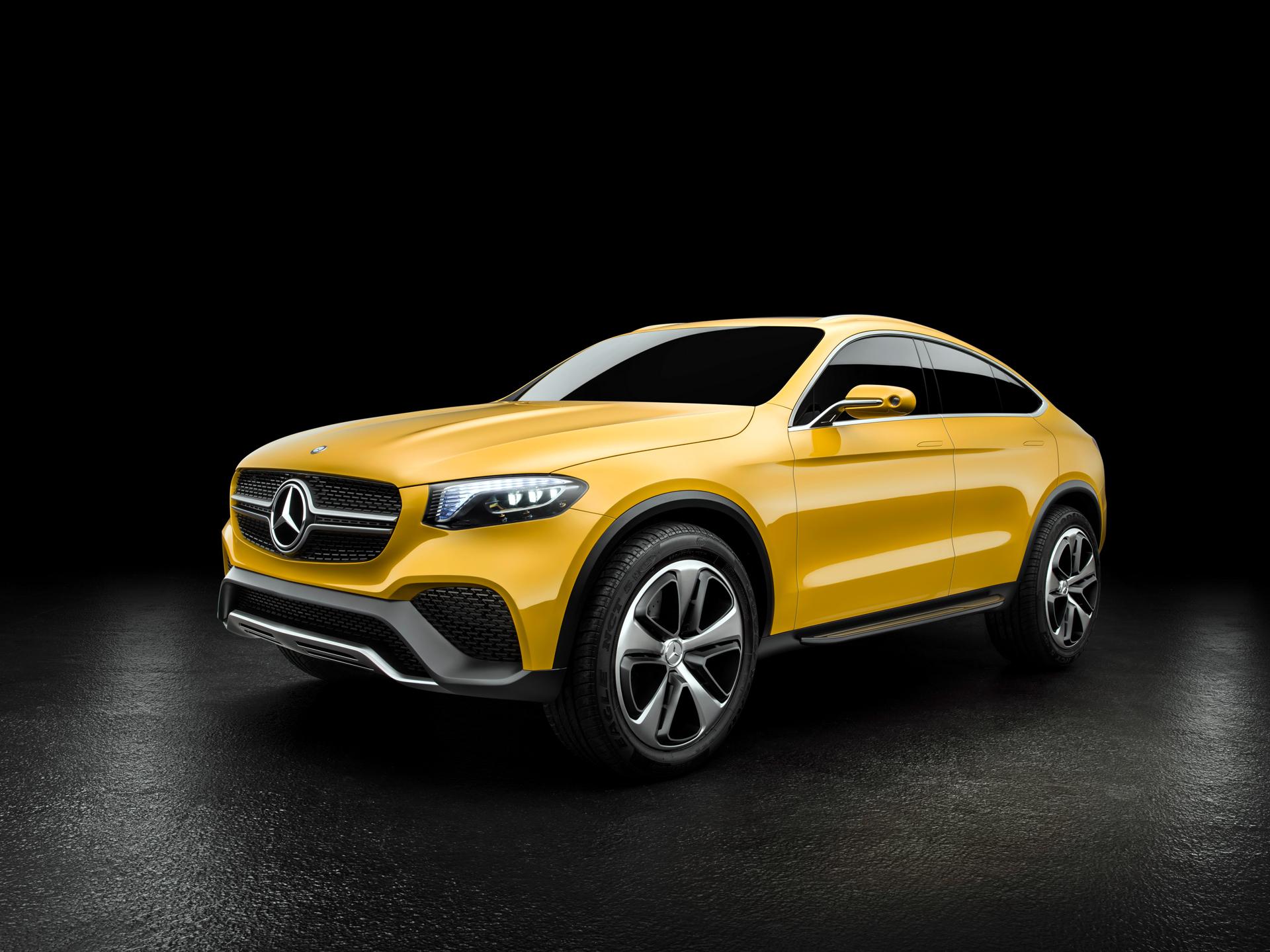 Mercedes-Benz Concept GLC Coupe - avant / front