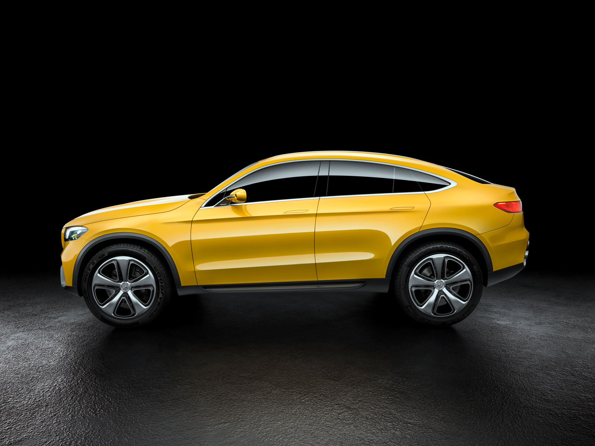 Mercedes-Benz Concept GLC Coupe - profil / side face