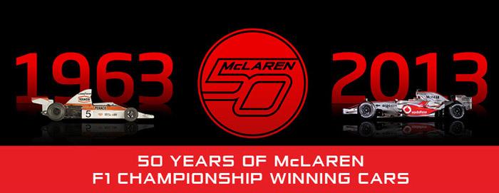 50 ans McLaren Formula One