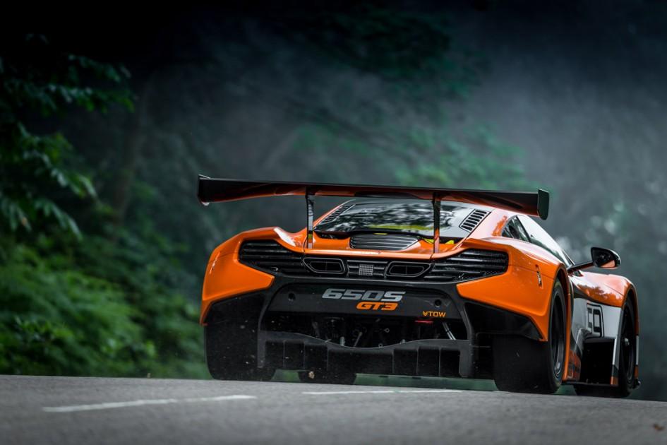 McLaren 650S GT3 - arrière