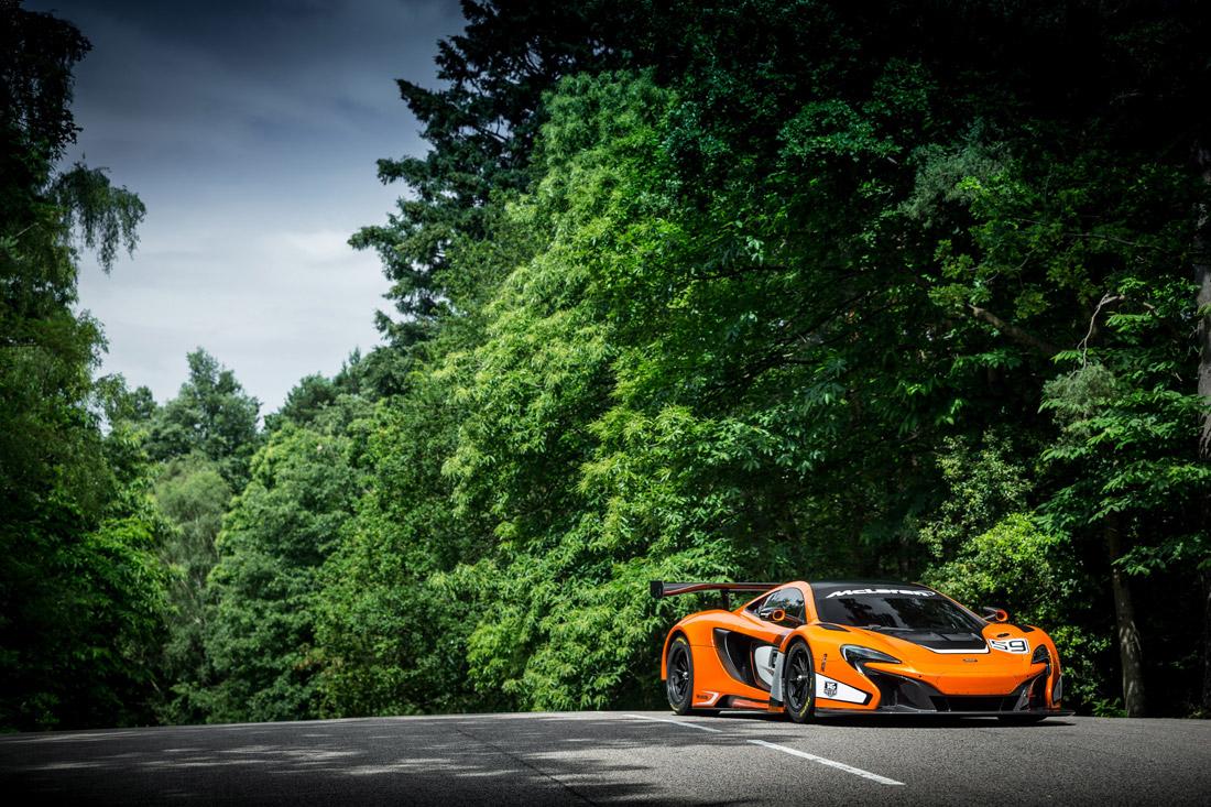 McLaren 650S GT3 - avant