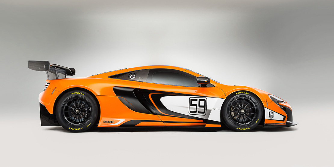 McLaren 650S GT3 - profil