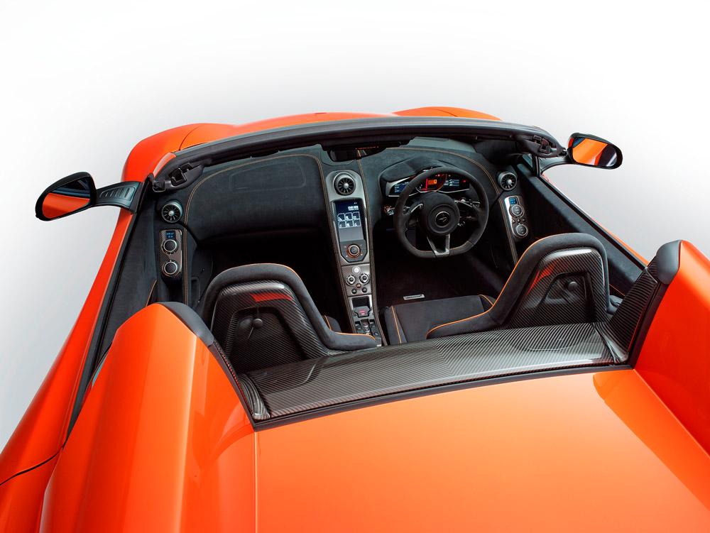 Intérieur - McLaren 650S