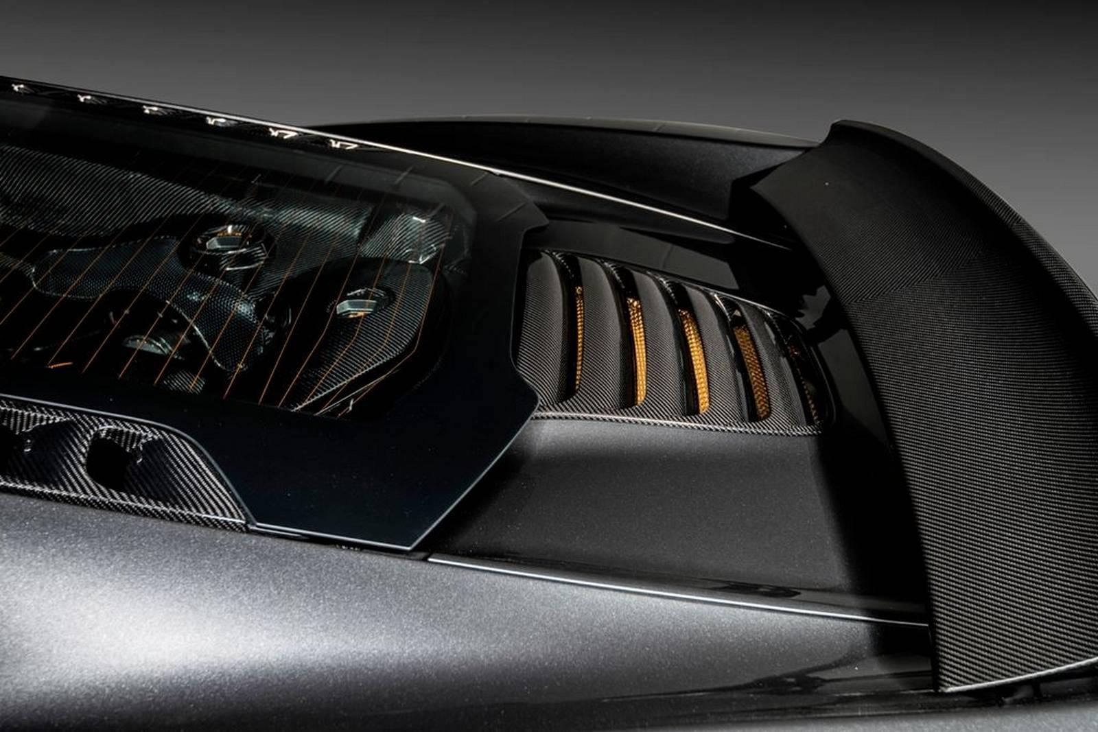 McLaren 650S - MSO - Project Kilo - aileron arrière