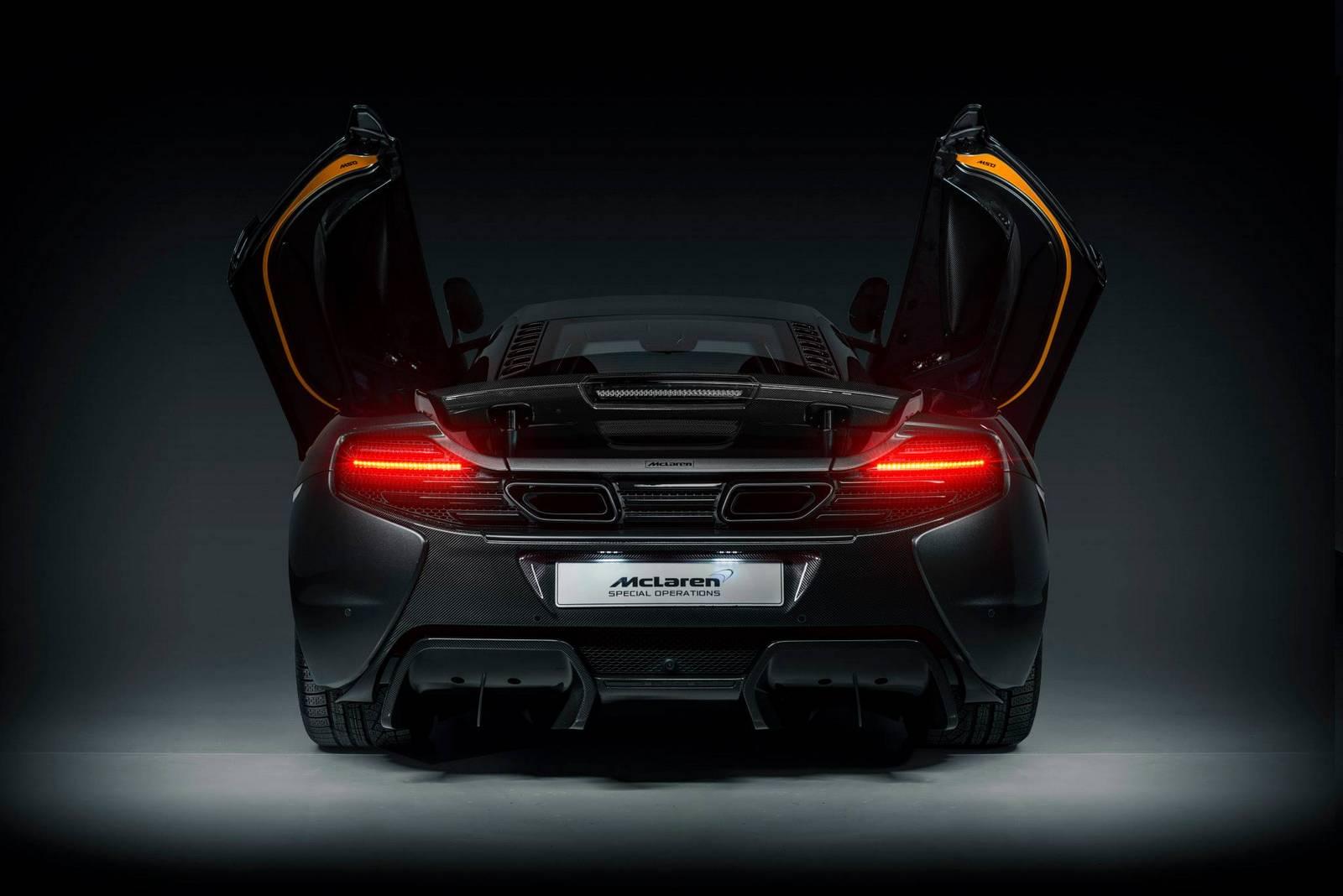 McLaren 650S - MSO - Project Kilo - face arrière