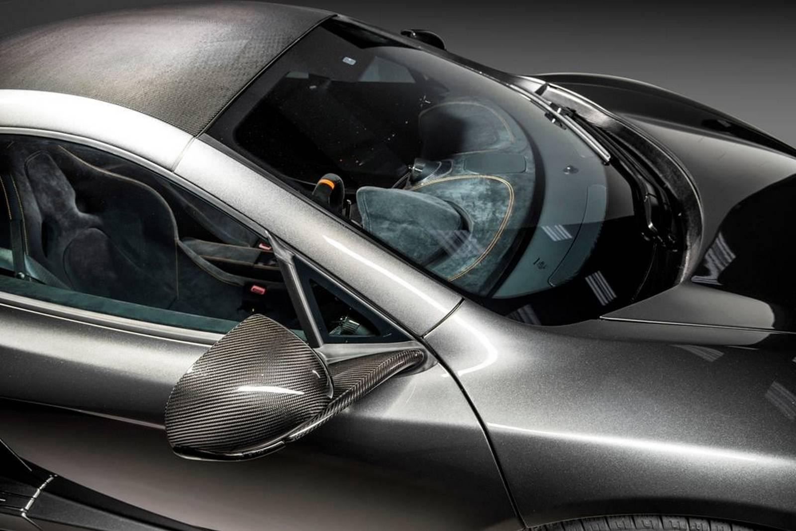 McLaren 650S - MSO - Project Kilo - toit avant