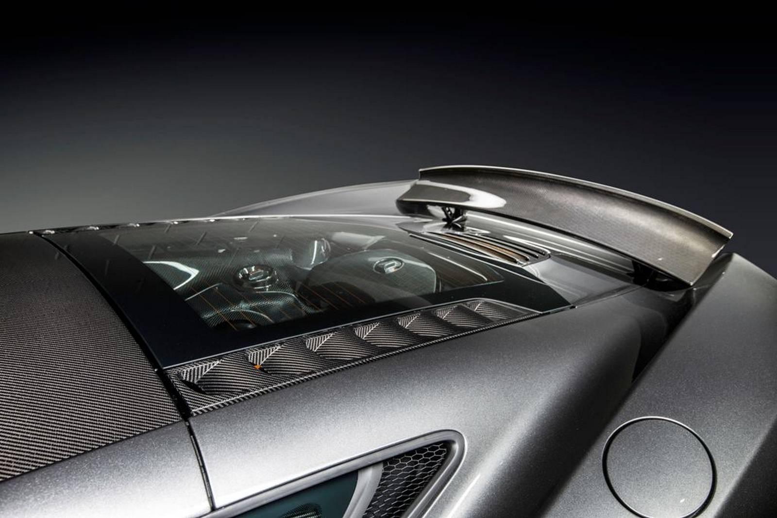 McLaren 650S - MSO - Project Kilo - vitrine moteur